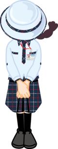 YL(夏服)おじぎ