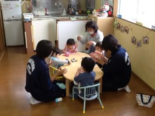 本庄東中学校社会体験チャレンジ(上里保育) 001