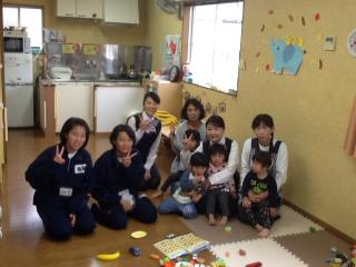 本庄東中学校社会体験チャレンジ(上里保育) 014