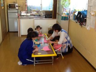 三尻中学校社会体験学習 052
