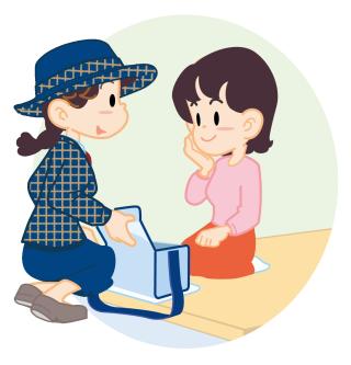 YL(冬服)家庭にお届け②