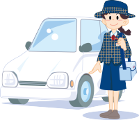 YL(冬服)自動車でお届け